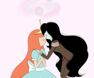 marceline, love, and adventure time image