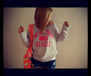 abercrombie and fitch, victoria secret pink, and fashion image