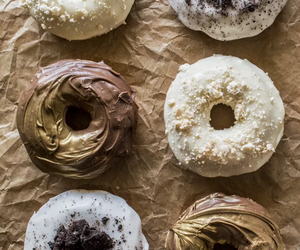 donuts, delicious, and dessert image