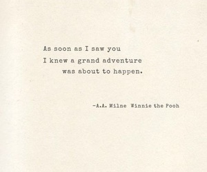 quotes, adventure, and winnie the pooh image