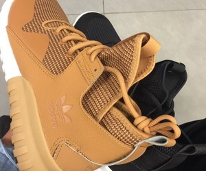 adidas, shoes, and brown image