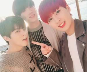 kpop, minsoo, and wooseok image