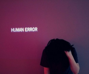 grunge, human, and error image
