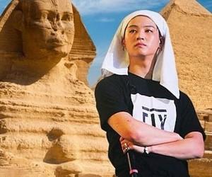 funny, pharao, and kpop image