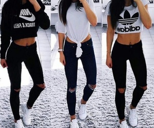 adidas, fashion, and girls image