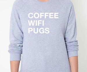 pug, fashion, and puppies image