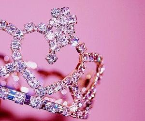pink, розовый, and a princess image