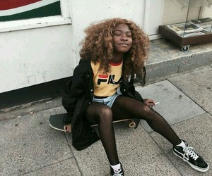 black girl, fashion, and soft grunge image