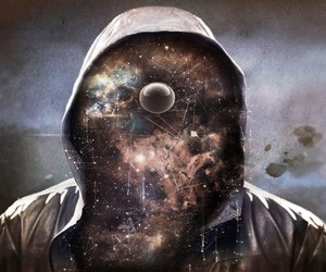 art, hoodie, and space image
