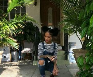fashion, ulzzang, and black girls image