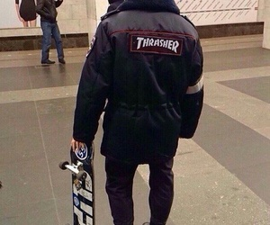 police and trasher image