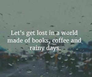 books, coffee, and rainy days image