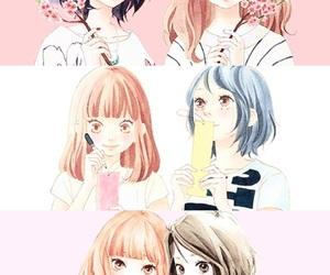 cute girl, friendship, and kawaii image