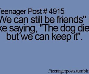 teenager post, friends, and dog image