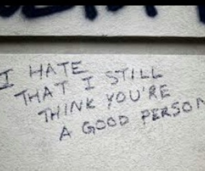 quotes, hate, and sad image