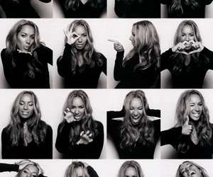 leona lewis and black and white image