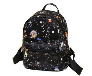 backpack, fashion, and highschool image