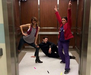 teen wolf, ian bohen, and shelley hennig image