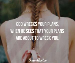 god, faith, and plan image