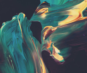 paint, abstract, and art image