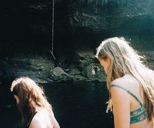 girls, grunge, and long hair image