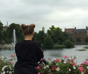 amsterdam, flowers, and tumblr image