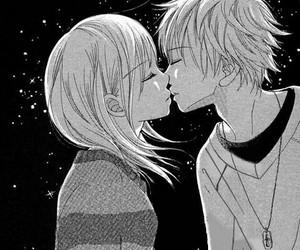 kiss, anime, and couple image
