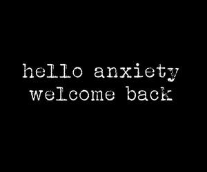 anxiety and sad image