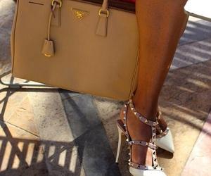 bag, shoes, and Prada image