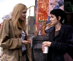 Angelina Jolie, winona ryder, and girl interrupted image