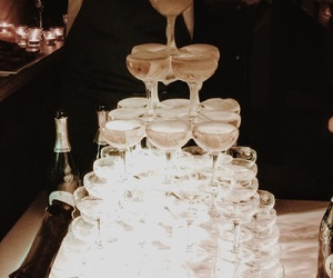 celebrate, champagne, and drinks image