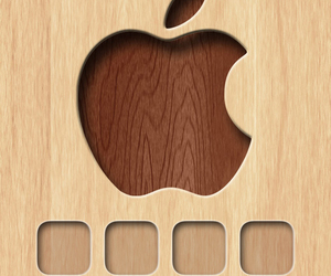 iphone 5, iphone 5 wallpaper, and icons-skins image