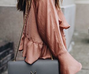 blouse, fashion, and Yves Saint Laurent image