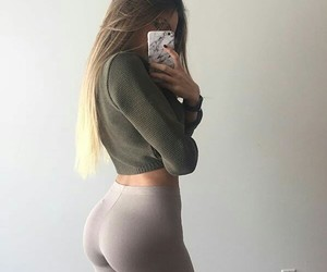ass, butt, and fit image
