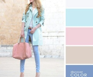 azul, blue, and chic image