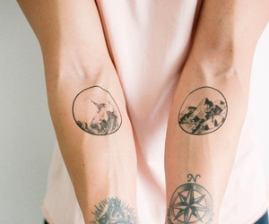 boy, ragazzo, and tattoo image