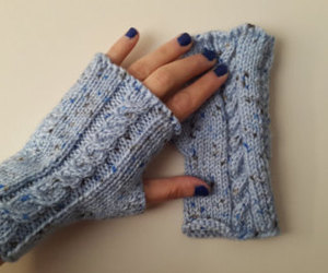 arm warmers, etsy, and fingerless gloves image