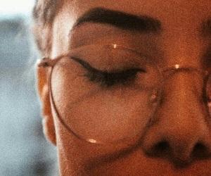 glasses, vintage, and makeup image