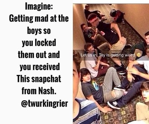 magcon and nash grier image