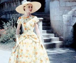 audrey hepburn, vintage, and dress image