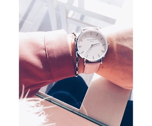 pink, rose, and watches image