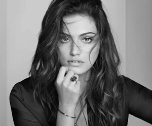 phoebe tonkin, black and white, and The Originals image