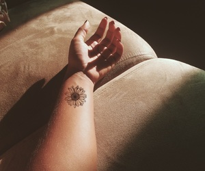 flower, tumblr, and tattoo image