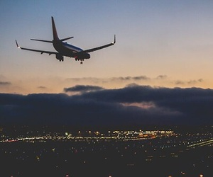 adventure, airplane, and amazing image