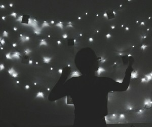 lights, room, and decore image