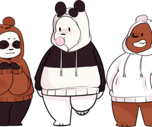 cartoon, png, and we bare bears image