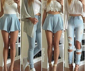 outfit, shoes, and white image