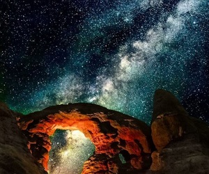 psychedelic, art, and cosmos image