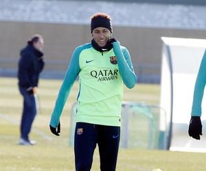 Barcelona, neymar jr, and training image
