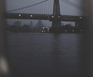 city, bridge, and grunge image